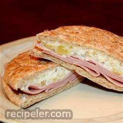 Ham Pineapple Sandwiches