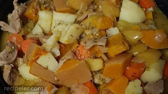 Harvest Pork Stew