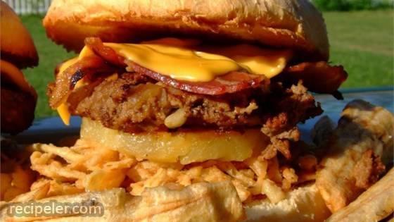 Hawaiian Belly Buster Burgers