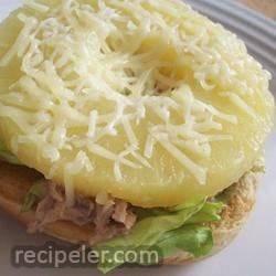 Hawaiian Tuna Sandwich