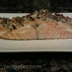 Hazelnut-Crusted Salmon