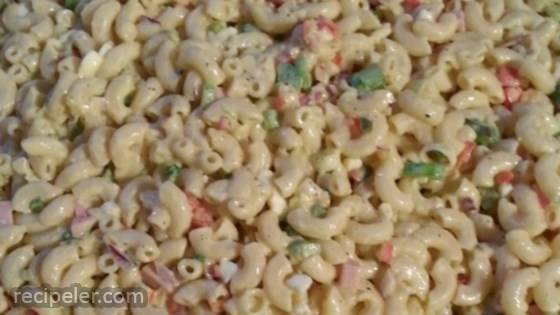 Healthier Classic Macaroni Salad