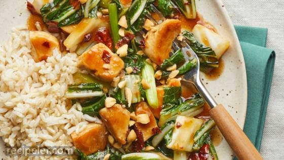 Healthier Kung Pao Chicken