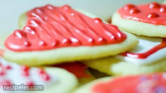 Healthier Sugar Cookie cing