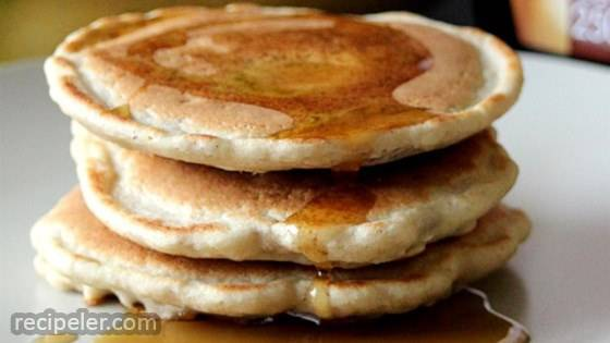 Healthy Freezer Pancakes