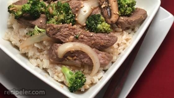 Healthy Steak Stir-Fry