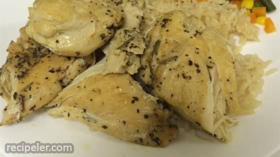 Herb And Chicken Pasta