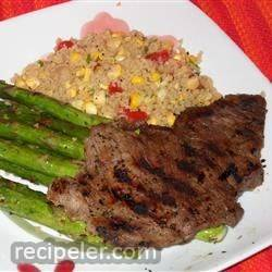 Herbed Chuck Steaks