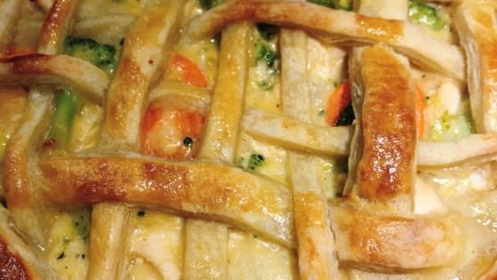 hidden cove puff pastry chicken pot pie