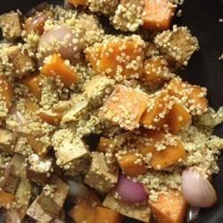High-protein Vegan Stir-fry