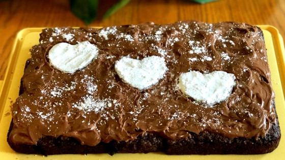 holiday fudge cake
