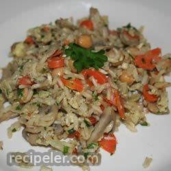 Home-Style Brown Rice Pilaf