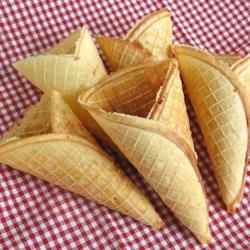 homemade ce cream cones