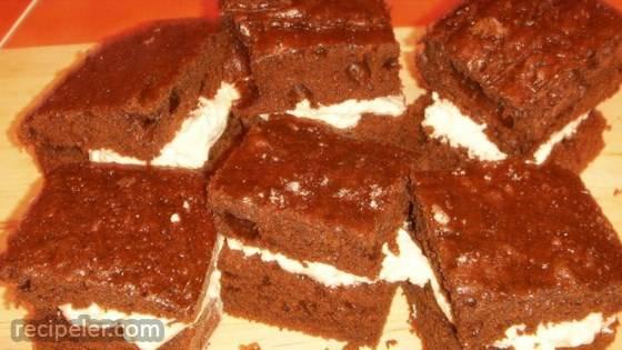 Homemade Cream Filled ndividual Sponge Cakes