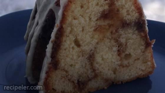 Honey Bun Cake from Scratch