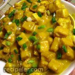 Honey Mustard Tofu