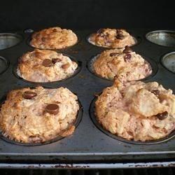 honey nut fruit muffins