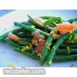 Honey Orange Green Beans