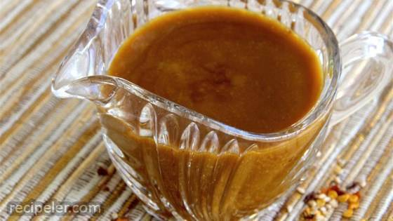 Hot and Sweet Sesame Dressing