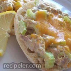 Hot Curried Tuna Sandwiches