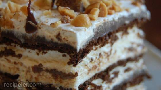 Hot Fudge ce Cream Bar Dessert