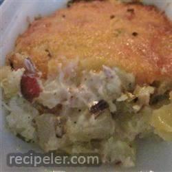 Hot German Potato Salad Casserole