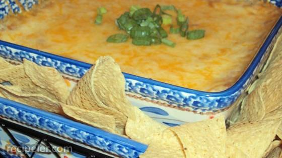 Hot Mexican Bean Dip