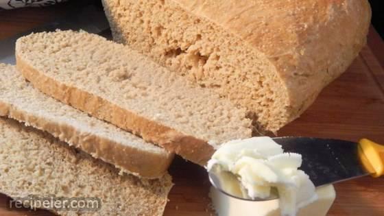 Hot Water Cornmeal Bread