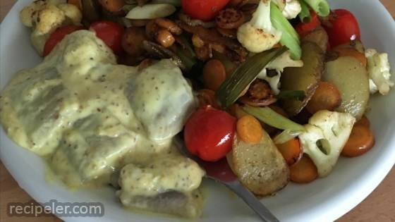 Hummus Noodle Salad