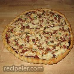 Husband-Friendly Chicken Pizza