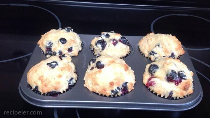 jacky's fruit and yogurt muffins