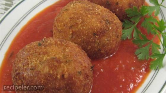 Jan's Brown Rice and Quinoa Cheesy Rice Balls