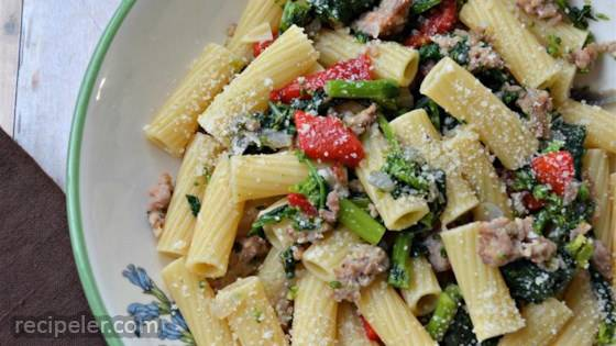 Jan's Cavatelli with Broccoli Rabe