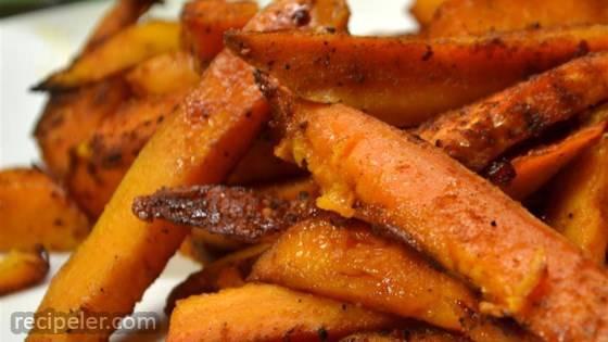 Jan's Chipotle Roasted Sweet Potatoes
