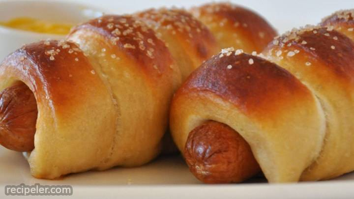 jan's pretzel dogs