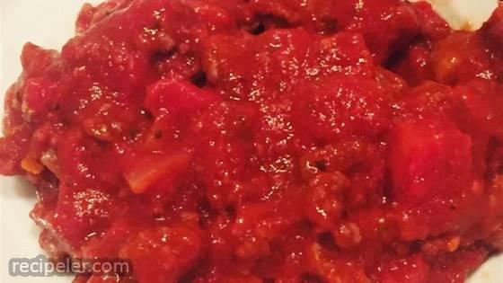Jan's Yummy Spaghetti