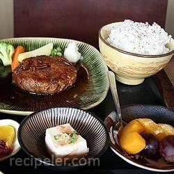 Japanese Wafu Burger