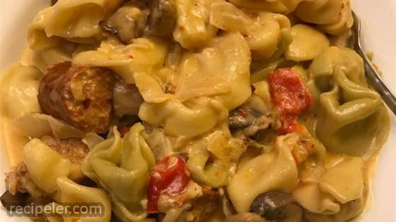 Jen's Chorizo Pasta