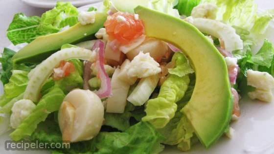 Jennifer's Fennel and Grapefruit Summer Salad