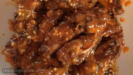 Jeri's Spicy Buffalo Wings