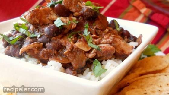 Jerre's Black Bean and Pork Tenderloin Slow Cooker Chili