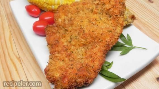 Jill's Kosher Chicken Schnitzel