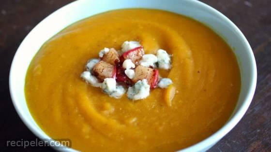Kabocha Pumpkin Soup