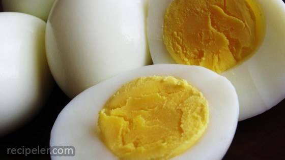 Ken's Perfect Hard Boiled Egg (And  Mean Perfect)
