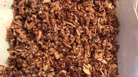 Keto Cinnamon Granola