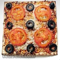 Kid's Favorite Passover Pizza