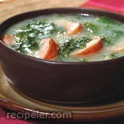 Kielbasa Kale Stew
