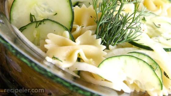 Kim's Summer Cucumber Pasta Salad