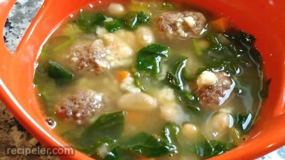 KK's talian Meatball Soup