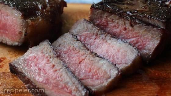 Koji-Rubbed Steak